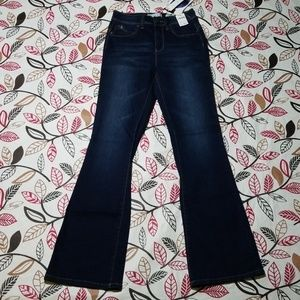YMI Luxe Lift Jade High Rise Flare Jean's Size 7